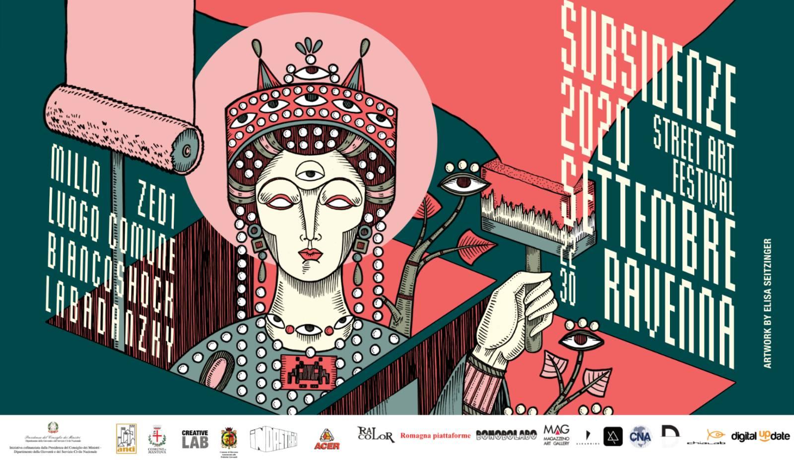 Subsidenze Associazione Culturale Indastria – Street Art Festival 2020